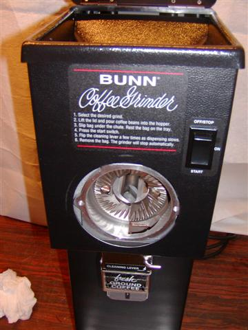Bunn G Coffee Grinder Used